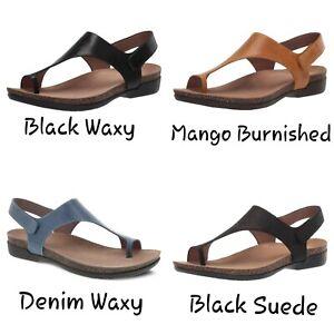 Dansko Reece Toe Loop Women's Leather Sandal -  Choose Size and Color -  NEW
