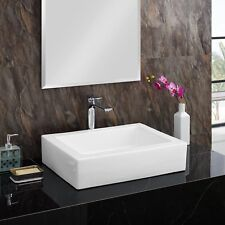 Swiss Madison Voltaire® Ceramic Rectangle Vessel Sink