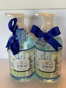 Michel For Body And Soul By The Sea Luxury Foaming Hand Soap 16.9 Oz X 2