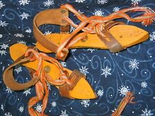 Antique Dutch Ice Skates-Holland Speed Skating-Wintertime Winter Primitive Decor