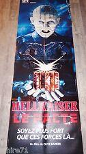 HELLRAISER le pacte  !  clive barker affiche cinema gore