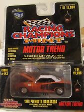 Racing Champions Mint 1970 Plymouth Barracuda 1 of 19,998