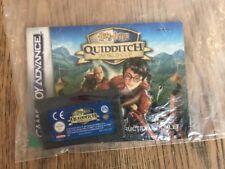 Harry Potter: COPPA del mondo di Quidditch-Nintendo-GBA-CARTUCCIA e MANUALE SOLO