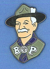SCOUTS OF NIPPON (JAPAN) - World Scout Founder Lord Baden Powell Metal Pin Patch