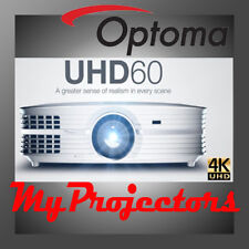 Optoma UHD60 4k Home Theatre Projector Best Cinema Movie