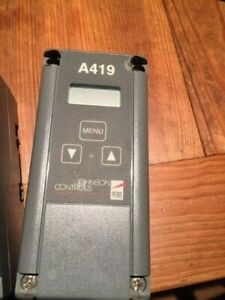 Johnson Controls A419 Electronic Temperature Control Single Stage Digital