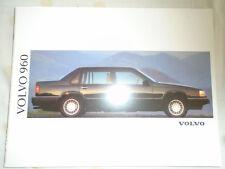 Volvo 960 range brochure 1992 German text