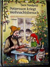 *Pettersson kriegt Weihnachtsbesuch* Sven Nordqvist / Oetinger Bilderbuch 1996
