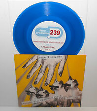 "FAKE PROBLEMS viking wizard eyes full of lies 3 song ep 7"" Record BLUE Vinyl"