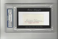 2010 Historic Autographs Felipe Alou AUTOGRAPH Giants Braves Expos 3/19 PSA/DNA