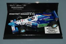 Minichamps F1 1/43 Benetton Renault B196 Lemaco-Berger-Gp Monaco 500 piezas