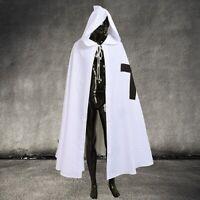 Medieval Black Templar Crusader Cloak Reenactment SCA LARP