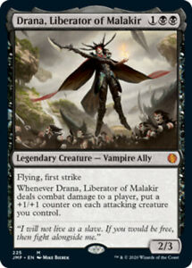 Drana, Liberator of Malakir x1 Magic the Gathering 1x Jumpstart mtg card