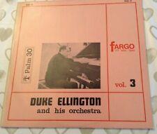 New listing Fargo 7th Nov 1940 Duke Ellington -LP vinyl record Vol 3
