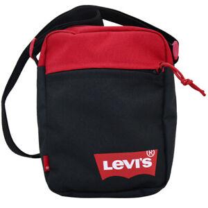 Levi's Unisexe Mini Bandoulière Sac Solid Chauve-Souris Logo Accessoires