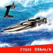 Feilun FT011 RC Boat 2.4G High Speed Brushless Motor Water Cooling W/ Battery