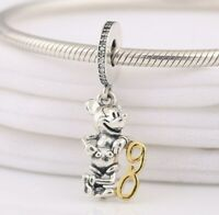 Disne CHARM Mickey Mouse 90th Anniversary Limited Edition Steriling Silver SALE