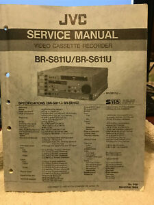 JVC BR-S811U/BR-S611U SERVICE MANUAL ORIGINAL