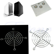 Metal 80mm PC Chrome Wire Fan grill / Cover / Guard Protector