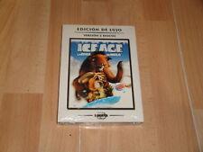 ICE AGE 1 LA EDAD DE HIELO EDICION COLECCIONISTA DE LUJO CON 2 DISCOS DVD NUEVO