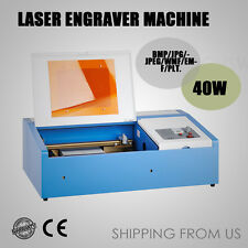 40W Laser Printer CO2 USB DIY Laser Engraver Cutter Engraving Cutting Machine