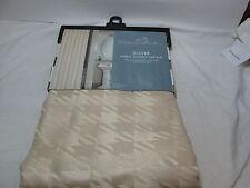 New Chelsea Park Olive Fabric Shower Curtain 70x72 ~ Light Gold Nip