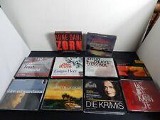 Konvolut Sammlung 10 x Krimi/Thriller CD Hörbücher Toptitel