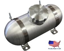 4x10 Center Fill Spun Aluminum Gas Tank 1/2 Gal Go Kart Riding Mower 1/8 Npt