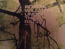 "ROBBIE WILLIAMS ""UNDER THE RADAR VOLUME 2"" CD DEDICACE NEUF / SIGNED NEW"