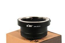 Objektivadapter Adapter passt zu Leica R Objektiv an Nikon 1 Anschluss Kamera