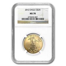 2012 1/2 oz Gold American Eagle MS-70 NGC - SKU #79690