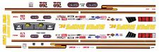 Pat Foster Super Shops Plymouth 1/32nd Scale Slot Car Waterslide Decals