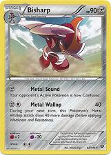 4x Pokemon XY Bisharp 82/146 Rare Card