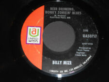 BILLY MIZE NM Beer Drinking Honky Tonkin' Blues 45 Someday When It Gets to Be