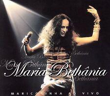 Marcotinha Ao Vivo by Maria Bethânia (2002 Biscoito Fino) 2-CD DIGIPAK 49 TRACKS