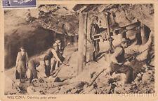 * WWII - Occupation of Poland 1943 WIELICZKA, Gornicy przy pracy