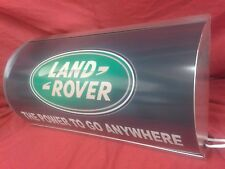 LAND ROVER, Serie, 4x4, difensore, Off Road, MANCAVE, Lightup Sign, garage, officina, 3