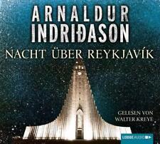 ~ Nacht über Reykjavík ~ Arnaldur Indridason ~ NEU OVP ~ 4 CDs
