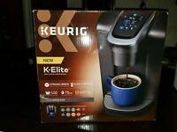 Keurig K-Elite Single Serve K-Cup Pod Coffee Maker Brushed Slate BRAND NEW