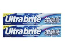 2 Pack Ultra Brite Advanced Whitening Toothpaste, Clean Mint 6oz