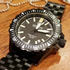 Deep Blue Daynight Mil T-100 Tritium Diver.  Near perfect condition! Extras!