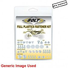 HONDA CR125 CR250 2000 - 2007 FULL PLASTICS FASTENER KIT NUTS & BOLTS