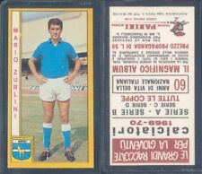 FIGURINA CALCIATORI PANINI 1969/70-NAPOLI,ZURLINI-NUOVA,PERFETTA,SUPER!