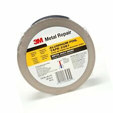 3m Aluminum Foil Tape 3381 188 X 50 Yd 27 Mil Silver Hvac Sealing And