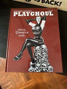 Playghoul Vampira Maila Nurmi Horror Host Horror Comics Spook Show