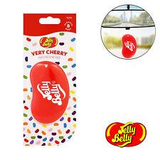 Jelly Belly 3D Bean Sweets Scent Car Air Freshener Freshner - Very Cherry 15210