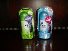 2 Veet Rasera Blade Less Kits - Hair Removal Gel Cream 5.1 Floz- 2 For $20 - New
