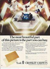 CROSSLEY Carpets 1972 Vintage Print Ad # 24 9