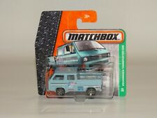 Matchbox Volkswagen Transporter Cab VW T3 Model Mattel Hot Wheels