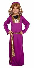 Wise Man Men Nativity Christmas Fancy Dress Costume Child Kids Boys 4-9 Years